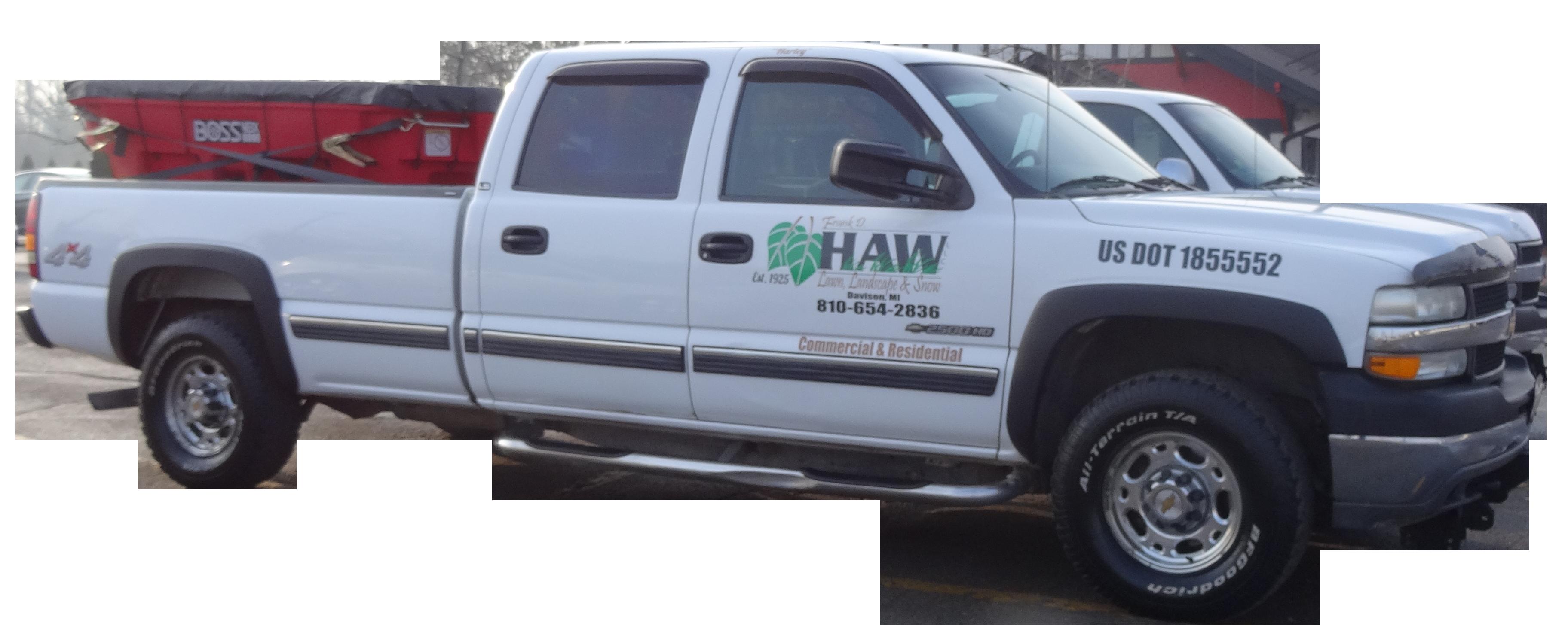 Haw Lawn & Landscape Truck